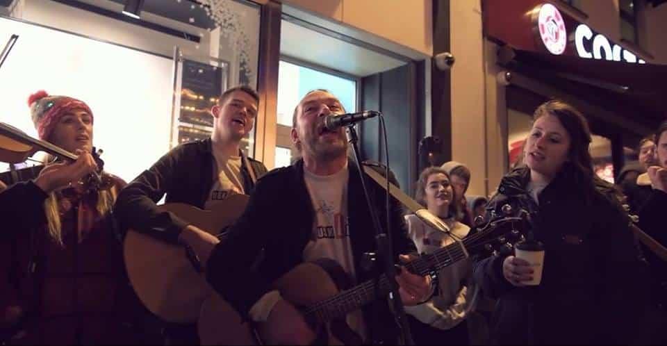 Derek Flynn, Anna Jordan and other local musicians.