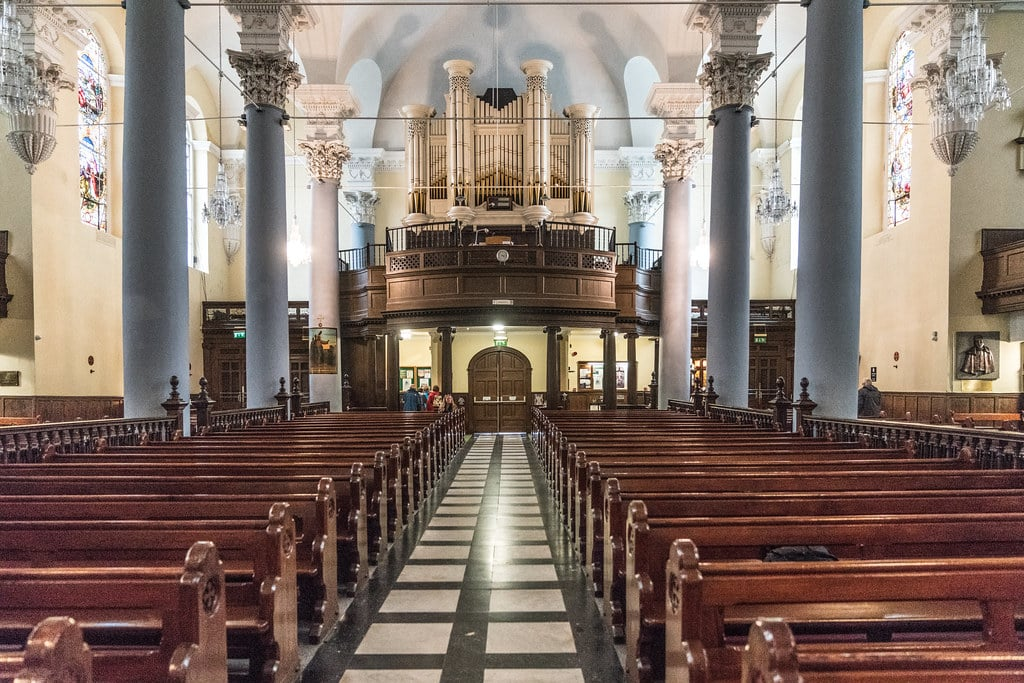 Inside the Cathedral of The Holy Trinity, Barronstrand St.