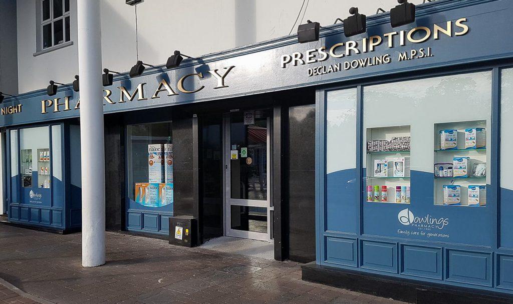 Dowlings Pharmacy Exterior