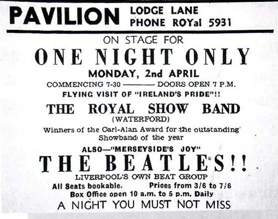Beatles Gig 62