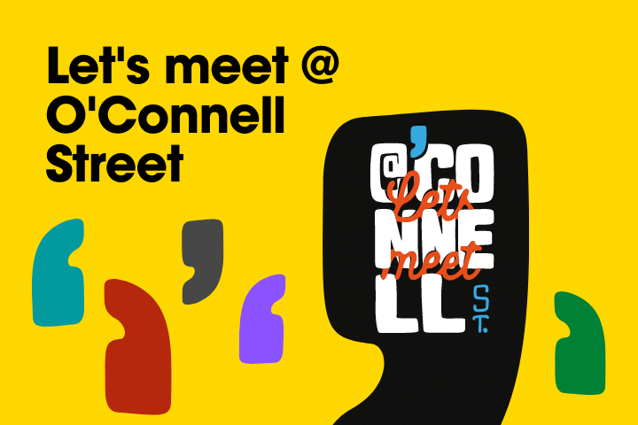 Lets meet at O'Connell Street